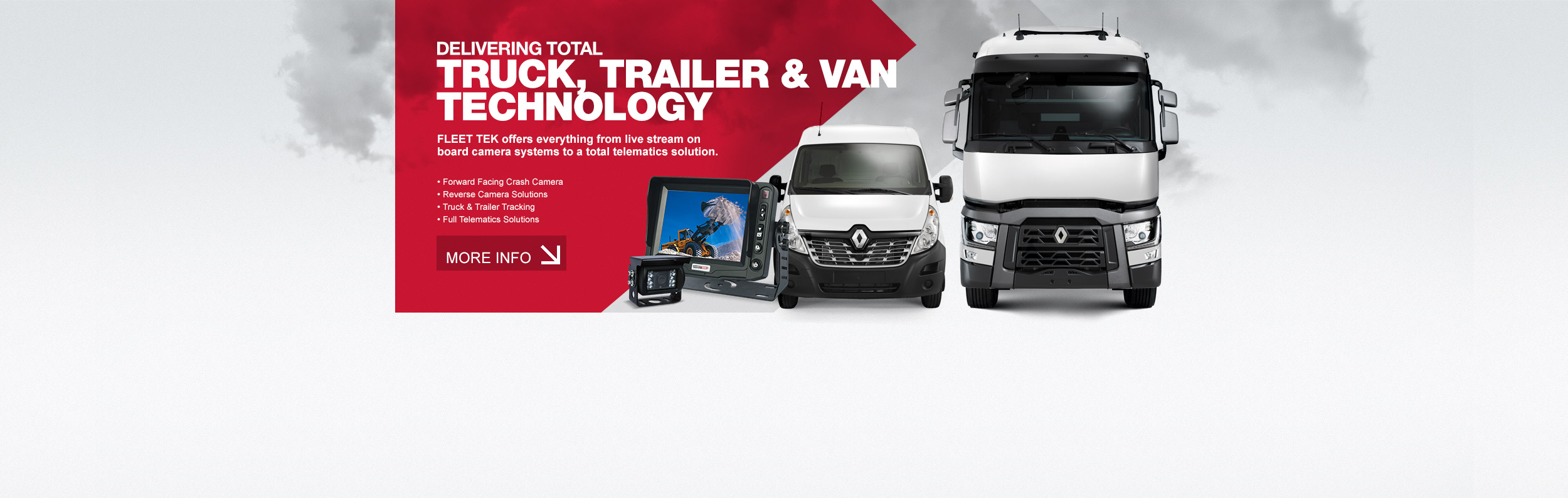 DELIVERING TOTAL  TRUCK, TRAILER & VAN  TECHNOLOGY